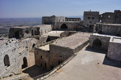 Krak des Chevaliers royalty free stock image