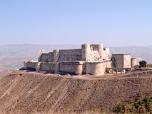 Krak des Chevaliers Royalty Free Stock Photos