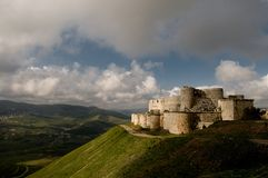 Krak des Chevaliers Royalty Free Stock Photography