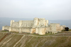 The Krak des Chevaliers Stock Image