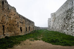 Krak des Chevaliers Castle - Syria. Krak des Chevaliers Castle in Syria Royalty Free Stock Image