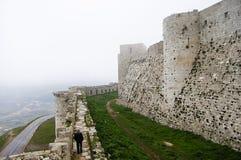 Krak des Chevaliers Castle - Syria. Krak des Chevaliers Castle in Syria Stock Images