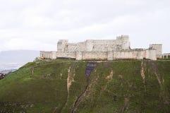 Krak des Chevaliers Castle - Syria. Krak des Chevaliers Castle in Syria Royalty Free Stock Photography