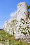 Krak des Chevaliers, crusaders fortress, Syria Royalty Free Stock Photography