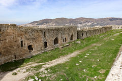 Krak des Chevaliers, Syria Stock Photo