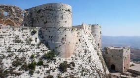 Krak des-Chevaliers. Syrien Royaltyfri Bild