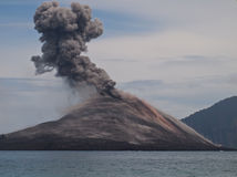 Krakatoa Royalty Free Stock Photos