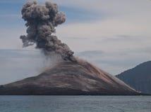 Krakatoa Fotografie Stock Libere da Diritti