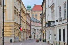 Krakau. Alte Stadt stockfotos