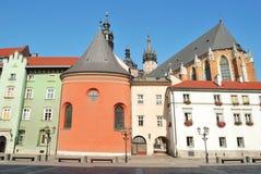 Krakau-alte Stadt stockfotos
