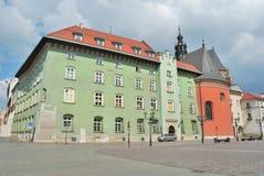 Krakau-alte Stadt lizenzfreie stockbilder
