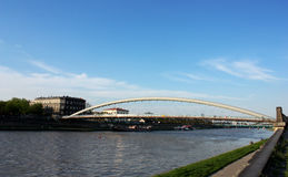 Krakau-Brücke Stockfotografie