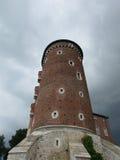 krakau Das Wawel-Schloss Stockfoto