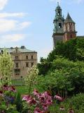 krakau Das Wawel-Schloss Stockfotos