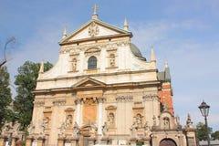 Krakau, de kerk van Peter en Paul van heilige Royalty-vrije Stock Foto's