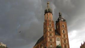 Krakau-Kathedrale stockfotografie