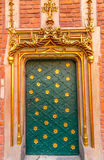 Krakau (Krakau) - Kollegium Maius-Porta Aurea Lizenzfreies Stockfoto