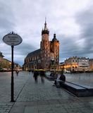 Krakau (Krakau) in Polen Royalty-vrije Stock Afbeelding