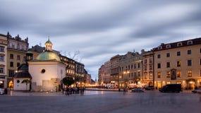 Krakau (Krakau) in Polen Royalty-vrije Stock Afbeeldingen
