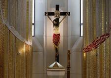 Krakau, Lagiewniki - die Mitte von Papst John Paul II Lizenzfreie Stockfotografie