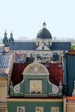 Krakau - oude stad. Stock Foto's