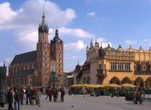 Krakau, Polen royalty-vrije stock afbeeldingen