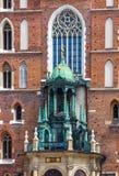 Krakau-Polen de Dag 2016 klok van de Wereldjeugd Royalty-vrije Stock Foto