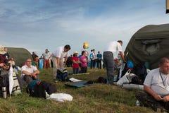 KRAKAU, POLEN - 31 JULI, 2016: Niet geïdentificeerde deelnemers van Worl Stock Fotografie