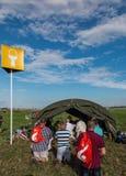 KRAKAU, POLEN - 31. Juli 2016, Weltjugend-Tag und der Katholische Lizenzfreie Stockfotografie
