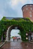 KRAKAU, POLEN - JUNI 2012: Bernardine Gate Stockfotos