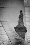 Krakau, Polen - 19. Oktober 2016 Reflexion des Bronze Ada Stockfotos