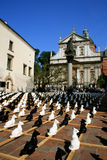 Krakau, Polen - St. Peters en Paul Square Royalty-vrije Stock Foto's