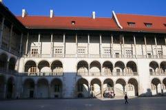 Krakau, Polen Wawel Royalty-vrije Stock Foto