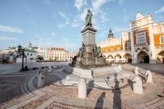 Krakau-Stadt in Polen Stockbilder