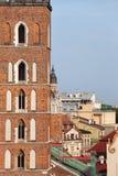 Krakau-Stadtbild in Polen Lizenzfreies Stockbild