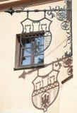 Krakau-Wappen Stockbild
