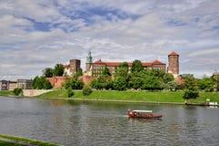 Krakau - Wawel Royalty-vrije Stock Afbeelding