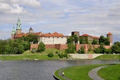 Krakau - Wawel Stock Fotografie