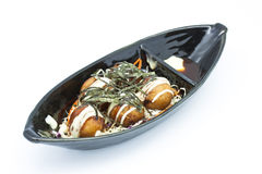 Krake-Kugeln, japanische takoyaki Kugeln lizenzfreies stockbild