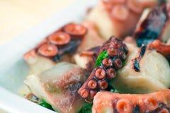 Krake-Salat Lizenzfreies Stockfoto