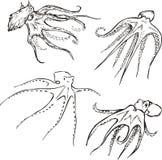 Kraken Lizenzfreie Stockfotos