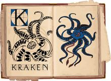 Kraken Royalty Free Stock Image