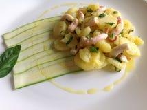 Kraken-Salat Lizenzfreie Stockfotos