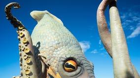 Krakenen royaltyfria bilder