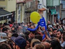 Krakenpartei Mugardos, ein Coruna Lizenzfreies Stockfoto