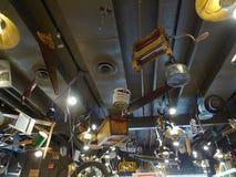 Krakers Lufowa restauracja, retro wystrój, Tulsa, OK Obraz Stock