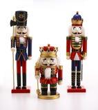krakersy orzechy zabawki Zdjęcia Royalty Free