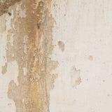 Krakingowa betonowa ściana. Obrazy Royalty Free