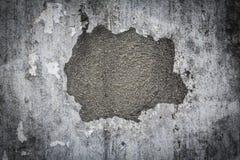 Krakingowa betonowa rocznik ściany tekstura jako tło Fotografia Royalty Free