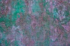 Krakingowa betonowa rocznik ściana, krakingowa betonowa rocznik ściana, stary chalkboard dla teksta, Zdjęcie Stock